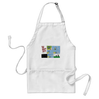 The Idiot Box by Sam Backhouse Adult Apron
