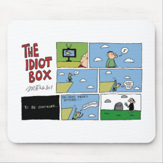 The Idiot Box by Sam Backhouse Mousemats