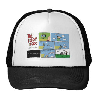 The Idiot Box by Sam Backhouse Trucker Hat