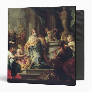 The Idolisation of Solomon, c.1735 (oil on canvas) 3 Ring Binder