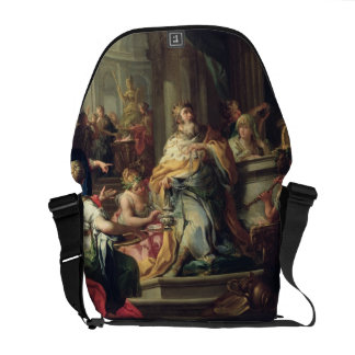The Idolisation of Solomon, c.1735 (oil on canvas) Courier Bag