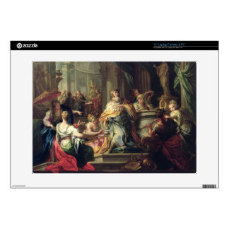 """The Idolisation of Solomon, c.1735 (oil on canvas) Decals For 15"""" Laptops"""