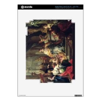 The Idolisation of Solomon, c.1735 (oil on canvas) iPad 3 Skins