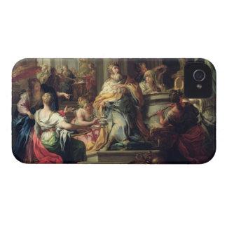 The Idolisation of Solomon, c.1735 (oil on canvas) iPhone 4 Case
