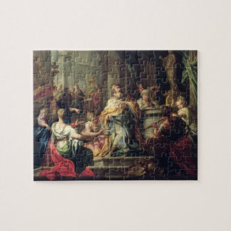 The Idolisation of Solomon, c.1735 (oil on canvas) Jigsaw Puzzle