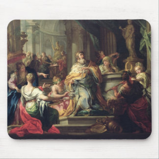 The Idolisation of Solomon, c.1735 (oil on canvas) Mouse Pad