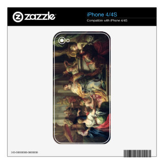 The Idolisation of Solomon, c.1735 (oil on canvas) Skin For iPhone 4S
