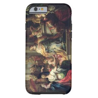The Idolisation of Solomon, c.1735 (oil on canvas) Tough iPhone 6 Case