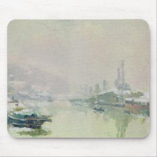 The Ile Lacroix under Snow, 1893 Mouse Pad