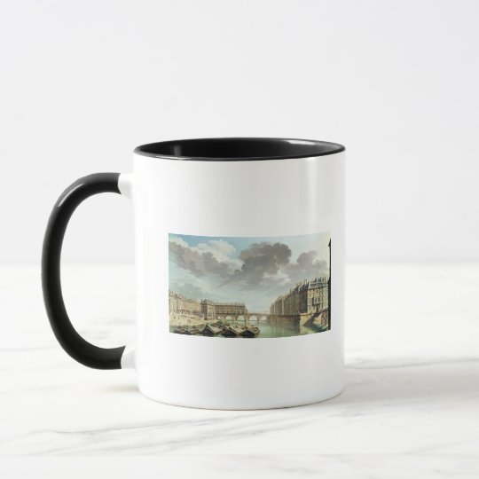 The Ile Saint-Louis and the Pont Marie in 1757 Mug