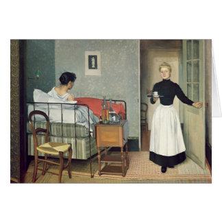 The Ill Child  1892 Card