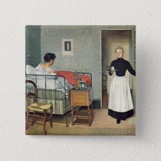 The Ill Child  1892 Pinback Button