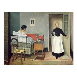 The Ill Child  1892 Postcard