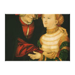 The Ill-Matched Couple Canvas Print