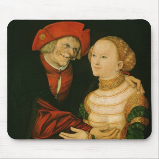 The Ill-Matched Couple Mouse Pad