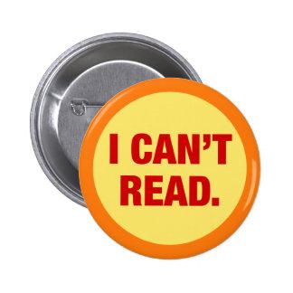 The Illiteracy Epidemic Pin