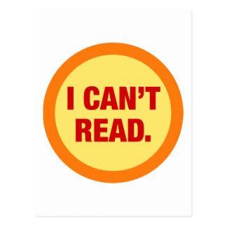 The Illiteracy Epidemic Postcard