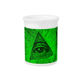 The Illuminati Eye Beverage Pitcher