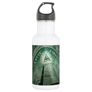The Illuminati Eye Water Bottle