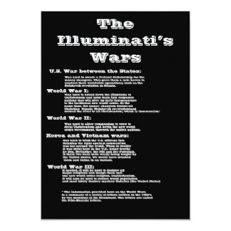 The Illuminati's Wars Card