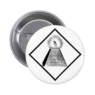 The Illuminutty Pinback Button