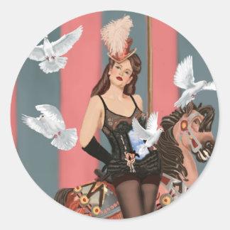 The Illusionist Classic Round Sticker