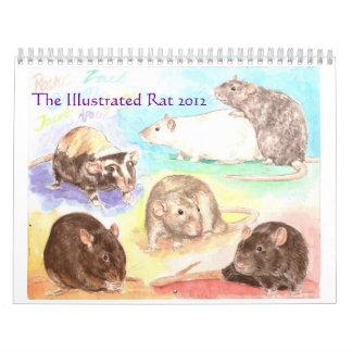 The Illustrated Rat 2012 Portrait Calendar