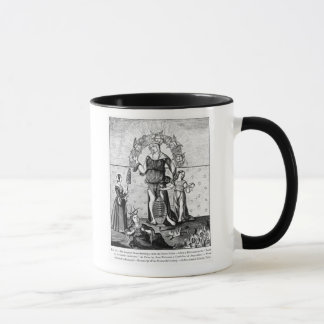 The Image of Dame Astrology with the Three Mug