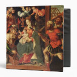The Image of the Adoration of the Magi 3 Ring Binder