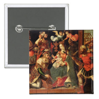 The Image of the Adoration of the Magi Button