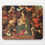 The Image of the Adoration of the Magi Mouse Pad