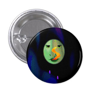 The Imaginary 8 The Girl's One Woman Blues Band Button