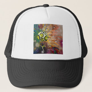 The imagination is a powerful tool in our life trucker hat