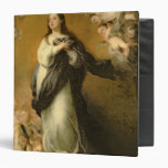 The Immaculate Conception 3 Ring Binder