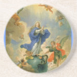 The Immaculate Conception Beverage Coaster