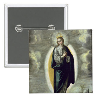 The Immaculate Conception Button