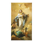 The Immaculate Conception by Giovanni B. Tiepolo Canvas Prints