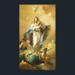 "The Immaculate Conception by Giovanni B. Tiepolo Canvas Print<br><div class=""desc"">.</div>"