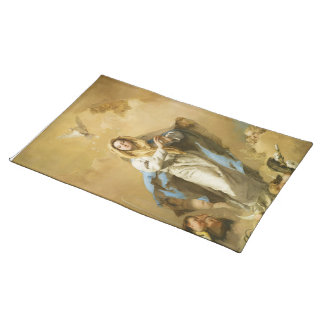 The Immaculate Conception by Giovanni B. Tiepolo Cloth Place Mat