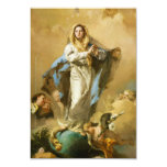 The Immaculate Conception by Giovanni B. Tiepolo Invitation