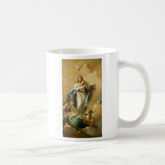 The Immaculate Conception by Giovanni B. Tiepolo Classic White Coffee Mug