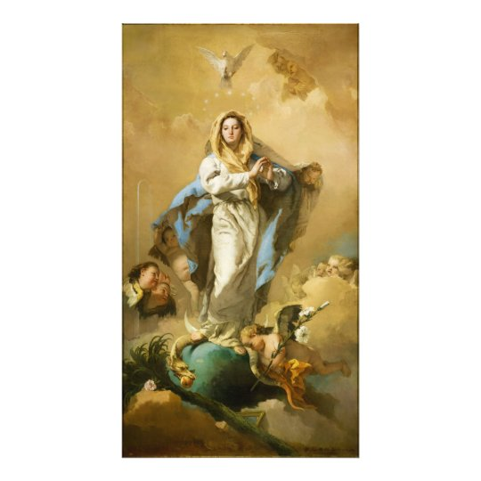 The Immaculate Conception by Giovanni B. Tiepolo Photo Print