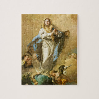The Immaculate Conception by Giovanni B. Tiepolo Puzzle