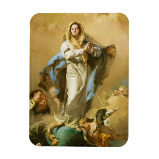 The Immaculate Conception by Giovanni B. Tiepolo Rectangular Photo Magnet