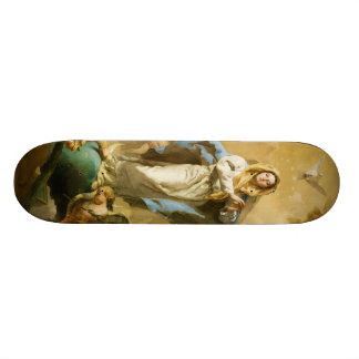 The Immaculate Conception by Giovanni B. Tiepolo Skate Board Decks