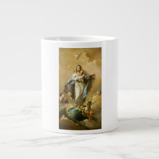 The Immaculate Conception by Giovanni B. Tiepolo 20 Oz Large Ceramic Coffee Mug