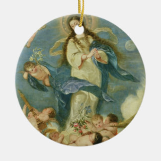 The Immaculate Conception Ceramic Ornament