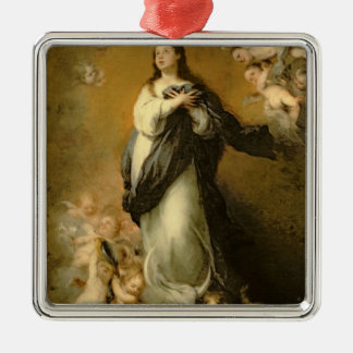 The Immaculate Conception Metal Ornament