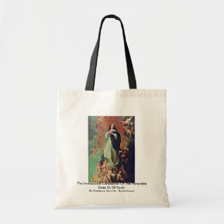 The Immaculate Conception Of The Venerable Ones Canvas Bags