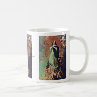 The Immaculate Conception Of The Venerable Ones Classic White Coffee Mug